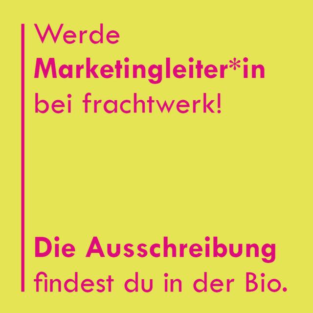 Leiter*in Marketing